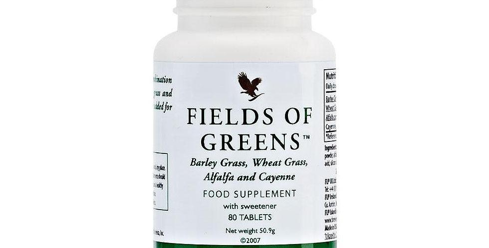 zaļumu lauki, forever fields of greens, dabīgs uztura bagātinātājs