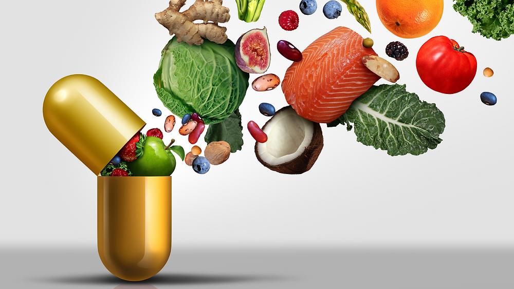 dabīga uztura bagātinātāja tablete