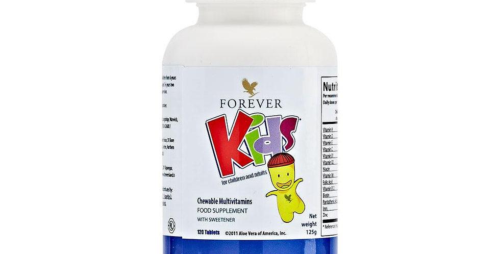 forever kids, dabīgs uztura bagātinātājs bērniem, forever living