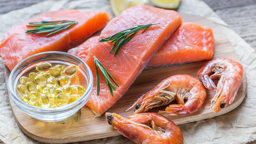 dabīga zivju eļļa kapsulās, omega 3, omega 9, lasis, garneles