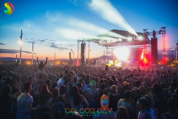 Color Day Festival, Athens Greece