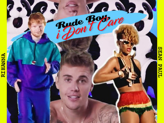 "Νew Summer Mashup is here! ""Rude Boy, I Don't Care"""