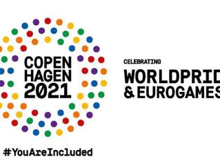 Performing at Copenhagen World Pride🎵