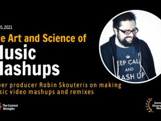 """Join us at our talk show """"The Art & Science Of Music Mashups feat. Robin Skouteris"""""""