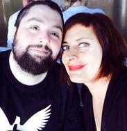 With Alexia Vassiliou