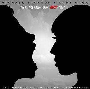 The King Of ArtPOP Mashup Album Cover by Robin Skouteris