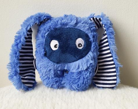 peluche lapin breton mini-bestiole bleu