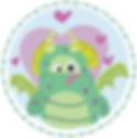 illustration chatfildroit doudou léon le dragon fabriqué en Bretagne