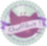 Logo Chatfildroit création de peluche et doudou fabriqué main en Bretagne (France).