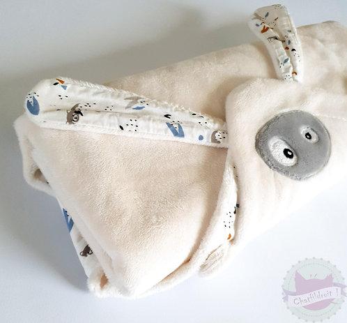Couverture- Doudou d'été blanche