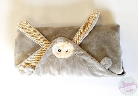 Couverture- Doudou d'été gris