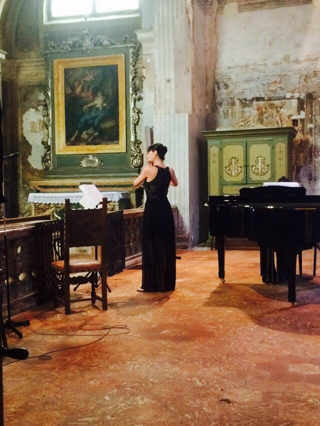 Masterclass of Prof. Berten D'Hollander at Cremona International Music Academy and Festival 2015, Cremona, Italy