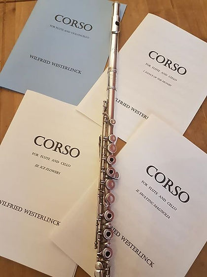 CORSO - Divertimento for Flute and Cello by Wilfried Westerlinck
