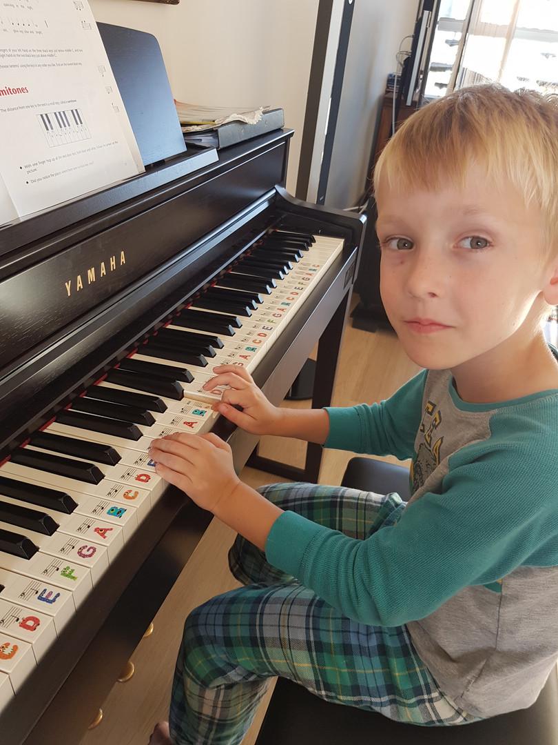 prep piano practice