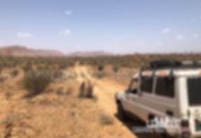 A remote area Larapinta Trail transfer