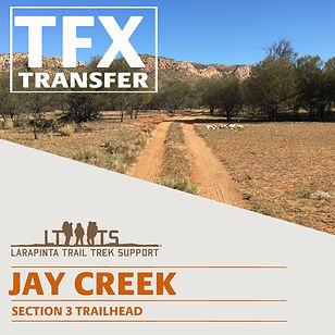 Larapinta Trail Transfers to Jay Creek