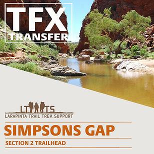 Larapinta Trail Transfers to Simpsons Gap