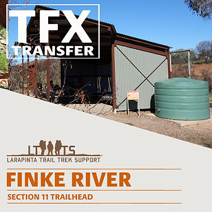 Larapinta Trail Transfers to Finke River