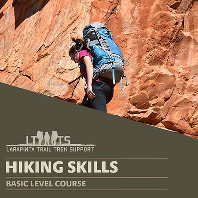 Hikig Skills Course - Larapinta Tai