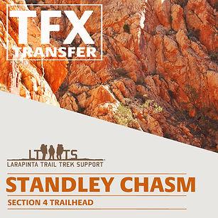 Larapinta Trail Transfers to Standley Chasm