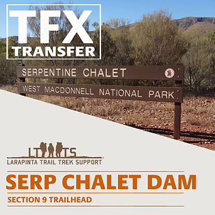 Serpentine Chalet Dam Transfers