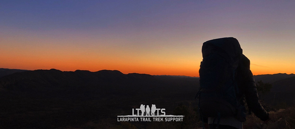 Astronomical Twilight offers some of the best colours possible on the Larapinta Trail
