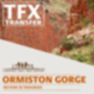Ormiston Gorge Transfers