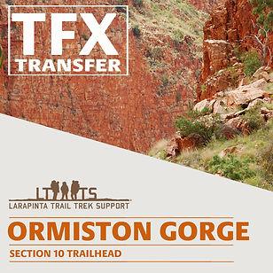 Ormiston Gorge Transfers