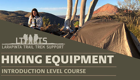 Larapinta Trail Hiking Equipment and Training