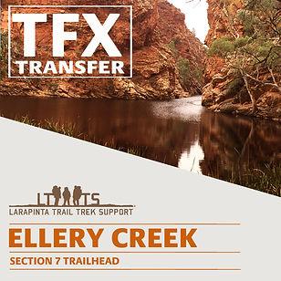 Larapinta Trail Transfers to Ellery Creek