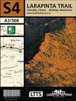 Section 4 Map - Larapinta Trail
