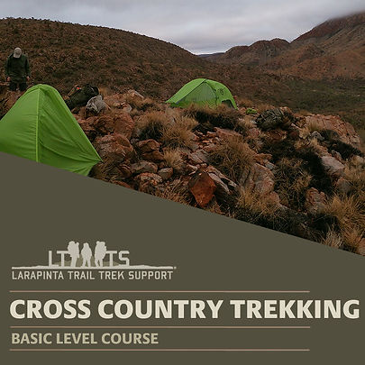 Cross Country Trekking in Cenral Austrlia