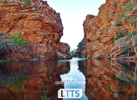 2020 Larapinta Trail Updates: Ellery Creek and Section 7 Changes