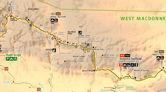 Larapinta Trail Maps - Elevation