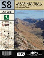 Section 8 Map - Larapinta Trail