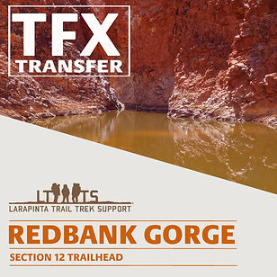 Redbank Gorge Transfers ( Drop Offs and Pick Ups)