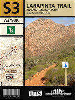 Section 3 Map - Larapinta Trail