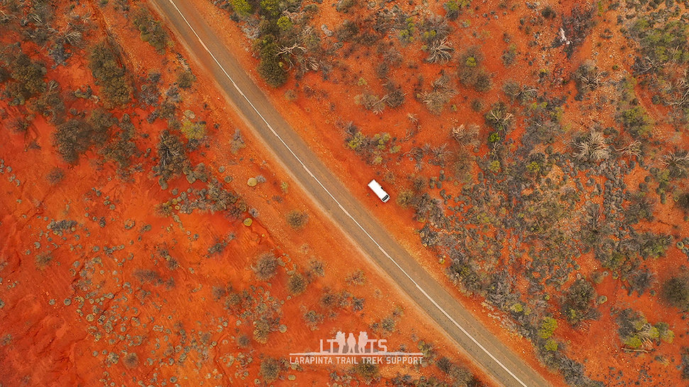 Remote area pick up from the West Macs National Park
