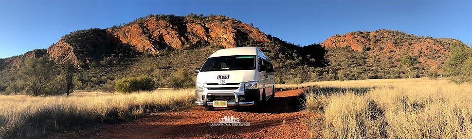 Hiace Bus - Larapinta Trail Transfers