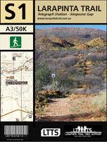 Section 1 Map - Larapinta Trail