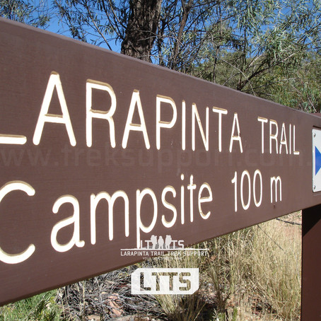 New for 2021: Trail and Campsite Fees for Larapinta Trail