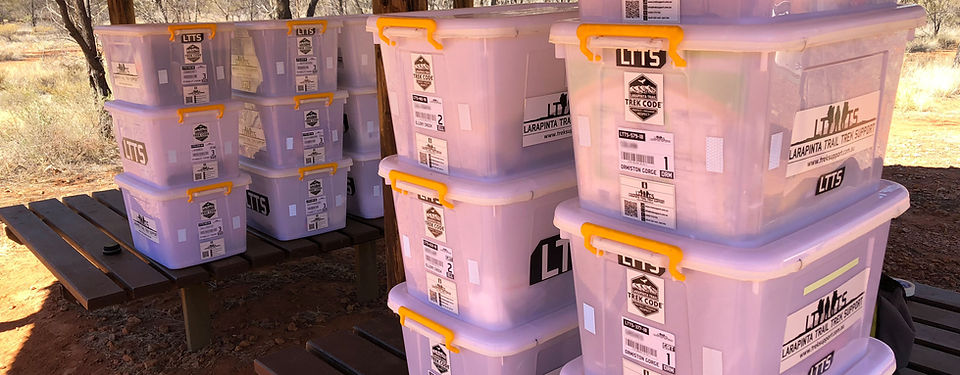 Larapinta Trail Food Drop Containers
