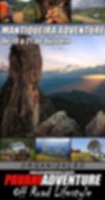 Mantiqueira.MANTIQUEIRA ADVENTURE - De 19 a 21 de Outubro  Roteiro Inédito e Exclusivo daPavani Adventure, além de tudo o que a Serra da Mantiqueira oferece de lindo como belas paisagens e clima de montanha....  Teremos um grande apelo Gastronômico com uma visitação guiada em uma Vinícola para degustar o famoso Vinho da Mantiqueira!!  Em breve maiores informações... PREPARE-SE ! ! !