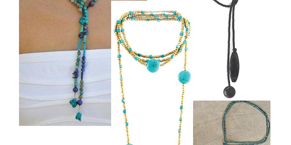 Elegant Lariat necklace class - October 4