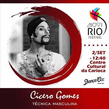 Workshop de TÉCNICA MASCULINA com Cícero