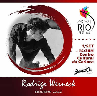 Vem dançar com _RODRIGO WERNECK _no WORK