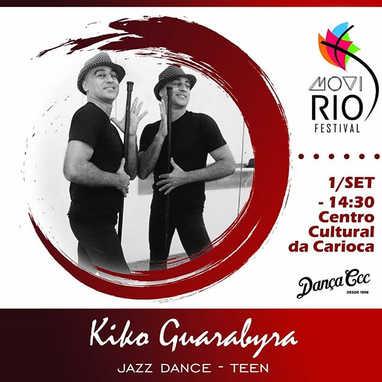 🤸 Jazz Dance com o energético KIKO GUAR