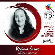 🚩 WORKSHOP de DANÇA MODERNA com Regina