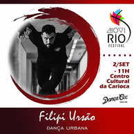 👊 FILIPI URSÃO _no WORKSHOP de  DANÇA U