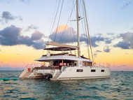 """Wonderful New Year's Week charter on SY """"Heavenly"""" and guests already booking again for next year!"""
